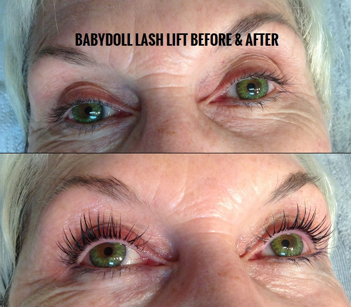 baby-doll-lash-lift-before-after